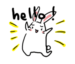 Kabaddi rabbit sticker #687781