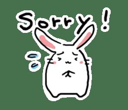 Kabaddi rabbit sticker #687782