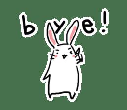 Kabaddi rabbit sticker #687783