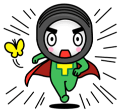 Tire-Korokoro-Man sticker #688230