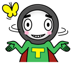 Tire-Korokoro-Man sticker #688245