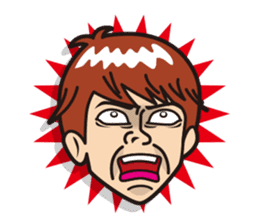 Face reaction  Man version sticker #689209