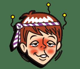 Face reaction  Man version sticker #689211