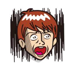 Face reaction  Man version sticker #689213