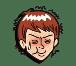 Face reaction  Man version sticker #689219