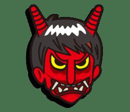 Face reaction  Man version sticker #689225