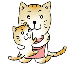 Dog husband and Cat wife sticker #689756