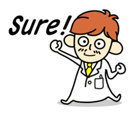 Come on Dr. A ! sticker #689795