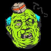 สติ๊กเกอร์ไลน์ Zombie Sticker