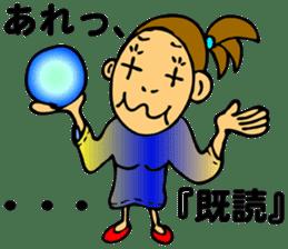 Fortune-teller Riepon sticker #690023