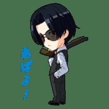 Miracle Train Ekimen&Tokugawa sticker #695770