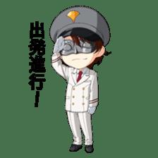 Miracle Train Ekimen&Tokugawa sticker #695782