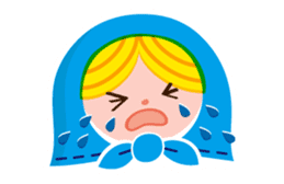 Little Matryoshka sticker #698194