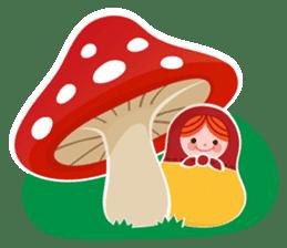 Little Matryoshka sticker #698205