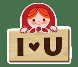 Little Matryoshka sticker #698207