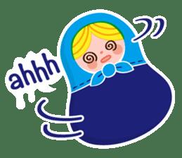 Little Matryoshka sticker #698223