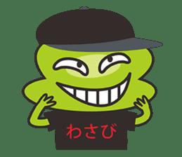 Wasabi Boy sticker #698241
