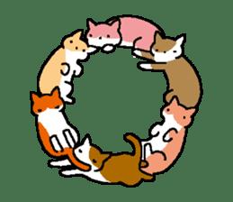 chimaneko sticker #698291