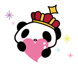 King PANDA sticker #698836