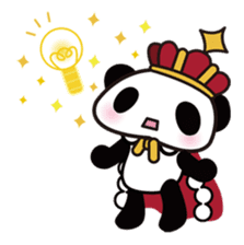 King PANDA sticker #698842