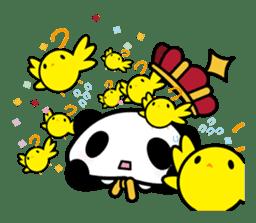 King PANDA sticker #698846