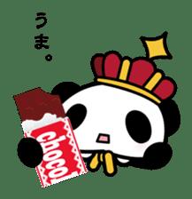 King PANDA sticker #698861