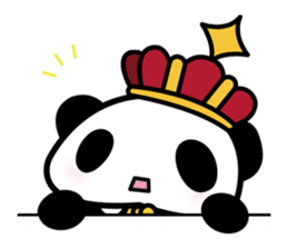 King PANDA sticker #698862