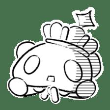 King PANDA sticker #698867