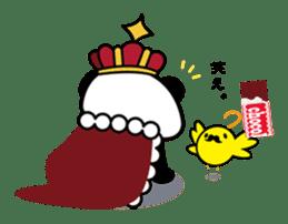 King PANDA sticker #698870