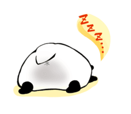 Osanpo MochiPanda (English Version) sticker #699433