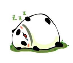 Osanpo MochiPanda (English Version) sticker #699434