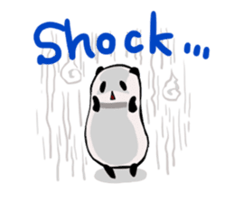 Osanpo MochiPanda (English Version) sticker #699443