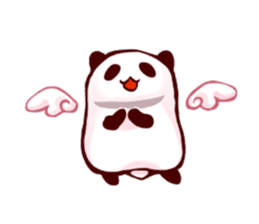 Osanpo MochiPanda (English Version) sticker #699461