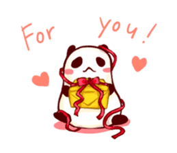 Osanpo MochiPanda (English Version) sticker #699467