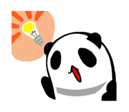 Osanpo MochiPanda (English Version) sticker #699469