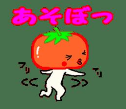 TOMATY of a tomato sticker #700282