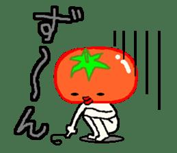 TOMATY of a tomato sticker #700285