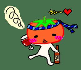 TOMATY of a tomato sticker #700301