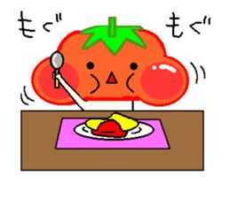 TOMATY of a tomato sticker #700302
