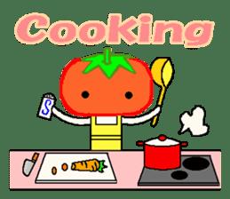 TOMATY of a tomato sticker #700306