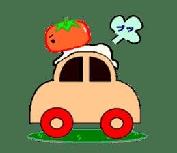 TOMATY of a tomato sticker #700310