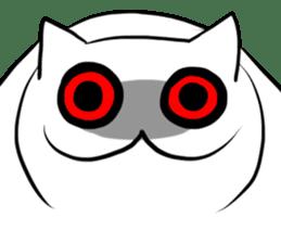 Meawbin The Creepy Cat sticker #702512