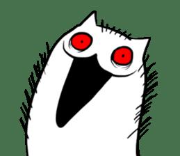 Meawbin The Creepy Cat sticker #702513