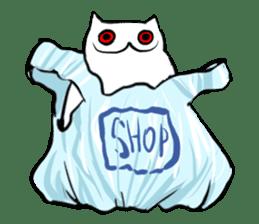 Meawbin The Creepy Cat sticker #702514
