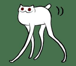 Meawbin The Creepy Cat sticker #702519