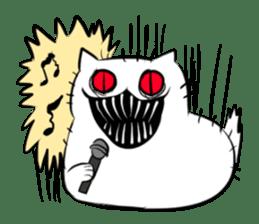 Meawbin The Creepy Cat sticker #702525