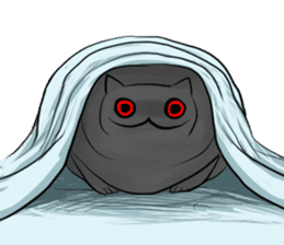 Meawbin The Creepy Cat sticker #702527