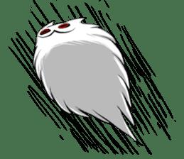 Meawbin The Creepy Cat sticker #702531