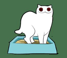 Meawbin The Creepy Cat sticker #702540