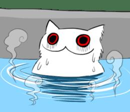 Meawbin The Creepy Cat sticker #702542
